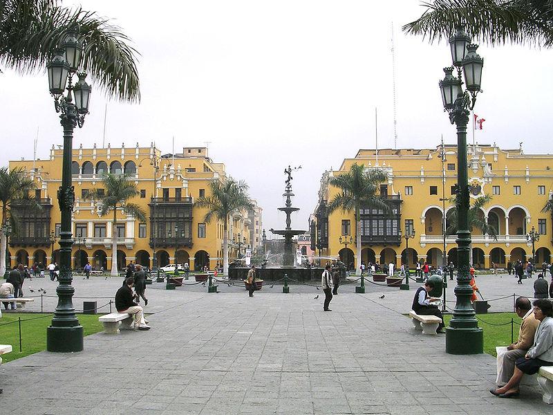 Pérou - Lima La Plaza de Armas